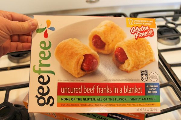 GeeFree Gluten Free Uncured Beef Franks In Puff Pastry