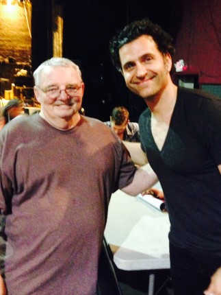 Fabgrandpa and Dweezil Zappa.