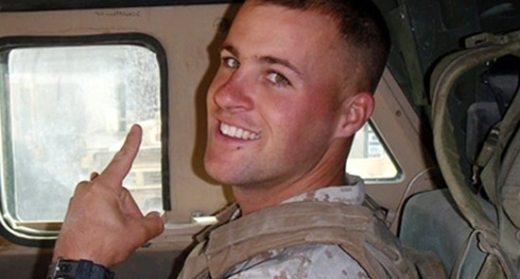 Clay Hunt: courtesy of Anthony Pike with Iraq and Afghanistan Veterans of America
