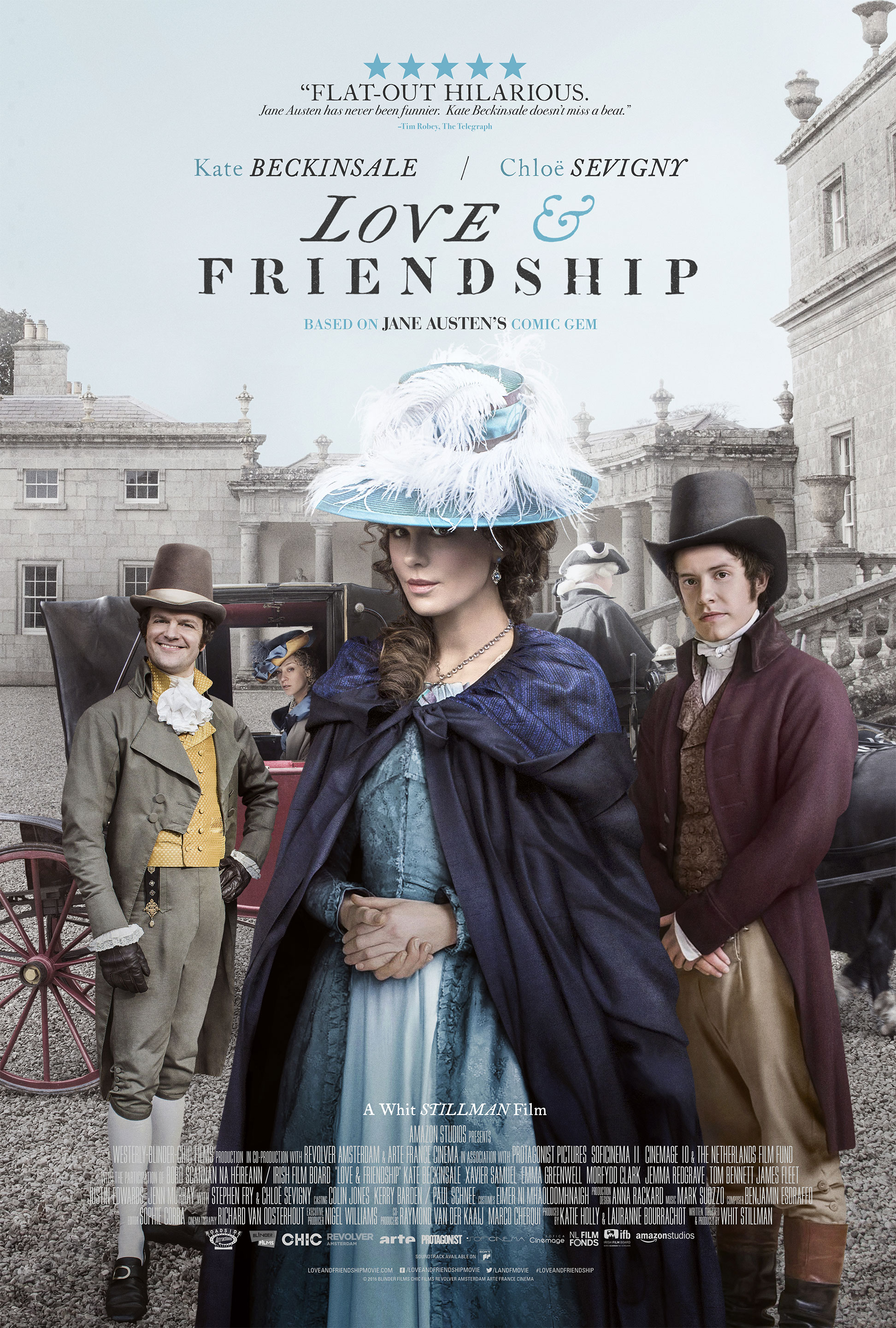 Love & Friendship in Select Theaters May 13 *Giveaway*