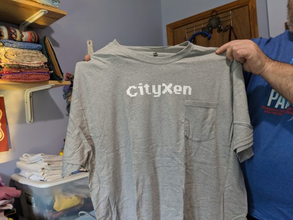 the t shirt I made for Cityzen