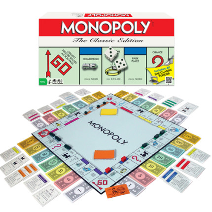 Monopoly is still a big seller.