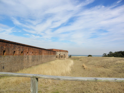 South Bastion of Fort Clinch