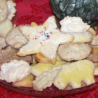 German Christmas Cookies at the Bakery (Not gluten free though!)