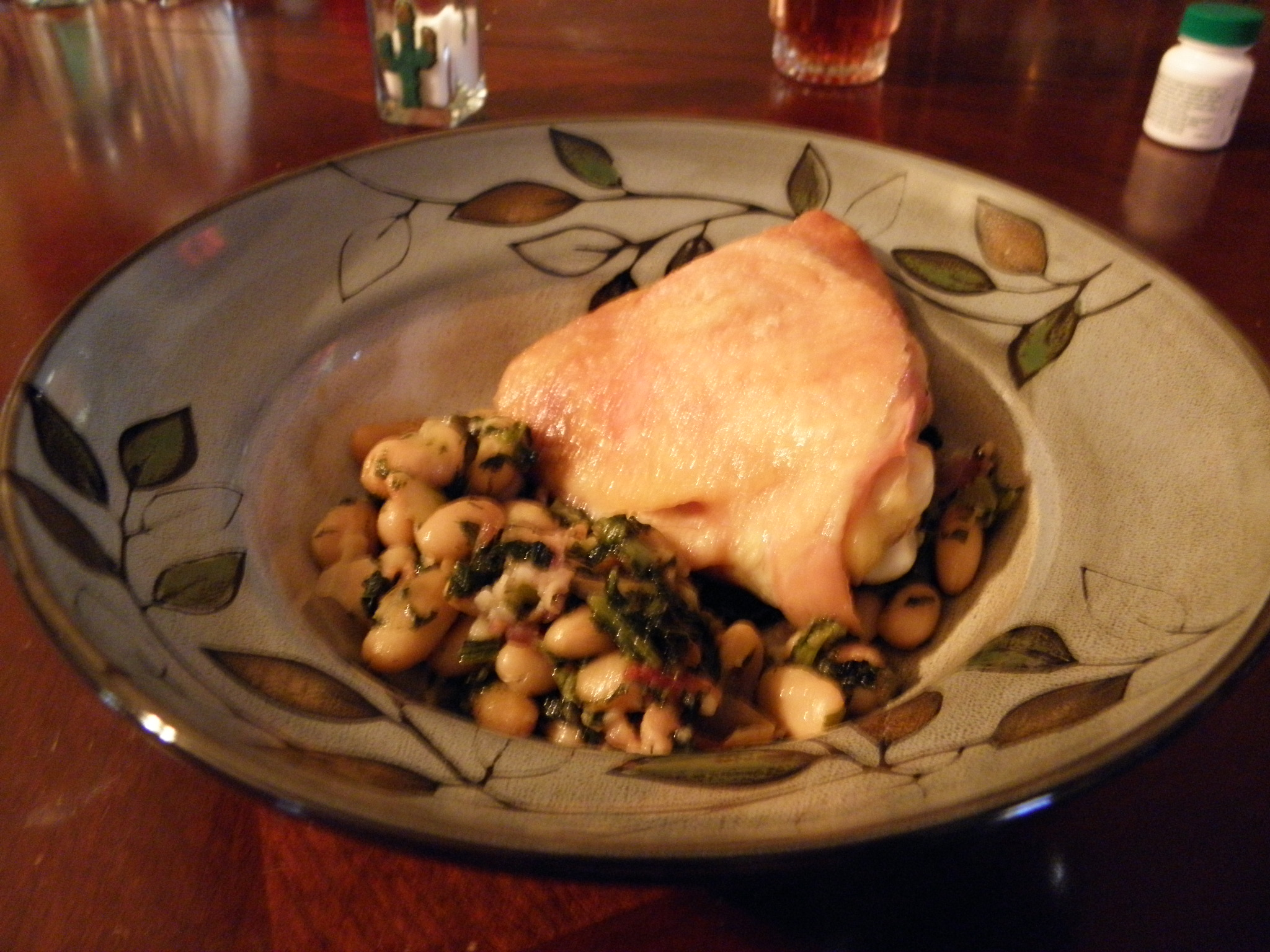 Re-Create The Recipe: Chicken With Cannellini Beans
