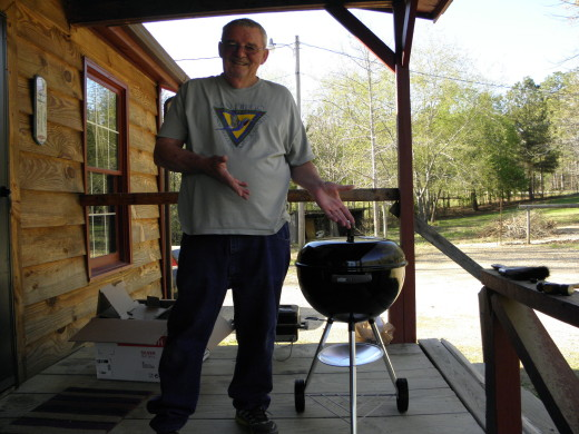 Fabgrandpa loves to cook on his Weber Grill