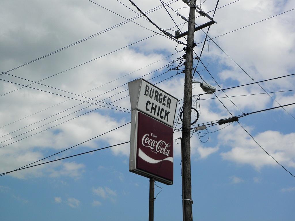 Around West Georgia: Burger Chick Restaurant, Tallapoosa