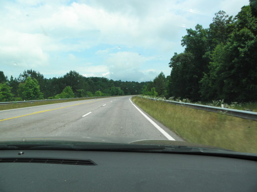 Hwy 9 south of Heflin, Alabama.