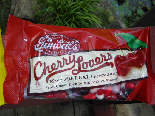 Cherry Lovers: All cherry flavors in one bag!