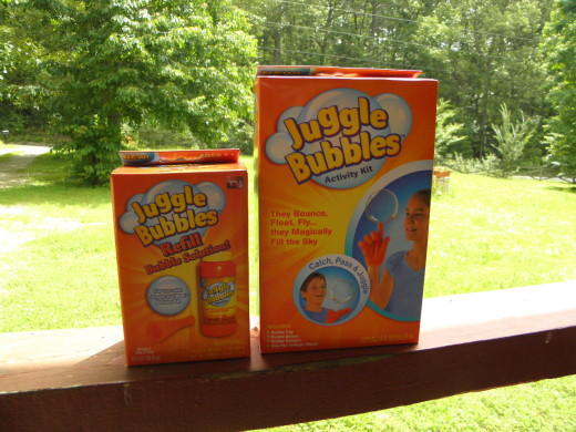 Juggle Bubble is fun for kids