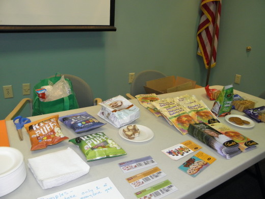There were tons of samples and coupons!