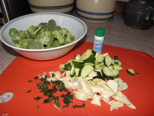 Chicken & Broccoli with Garlic