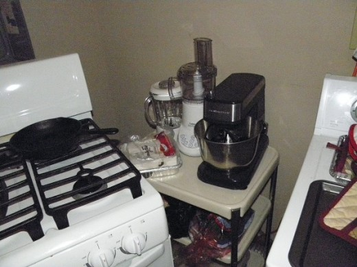 My mixer and blender