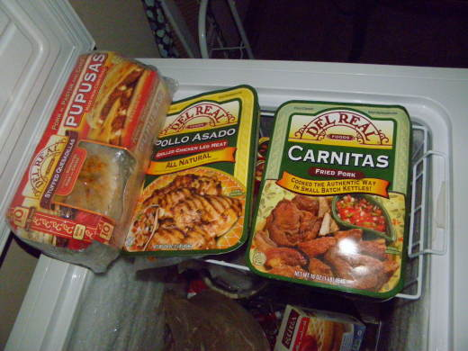 Carnitas in my freezer