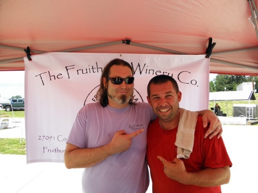 Joshua and Dylan Laminack of Fruithurst Winery