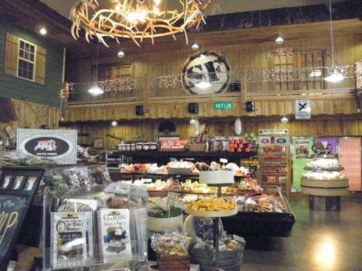 Inside Smith Farms Store
