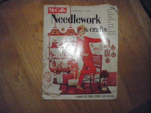 McCalls Needlework Magazine 1962