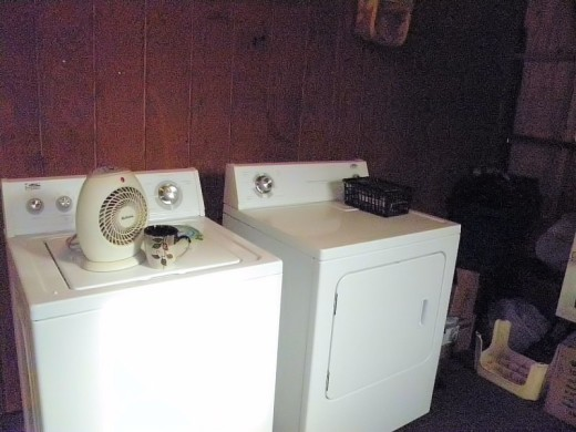 woodtrac by sauder for the laundry room