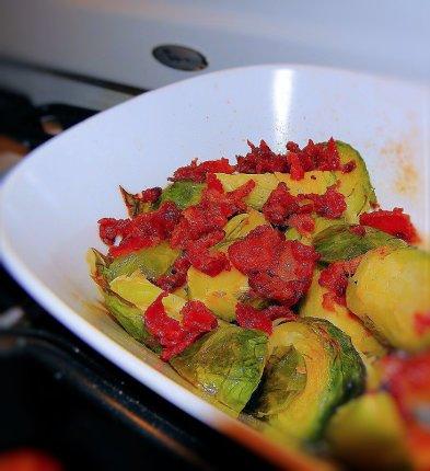 gluten free recipe brussels sprouts