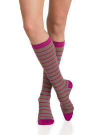 Quality_Women_s_Compression_Socks_Light_Brown_Fuchsia_2_large