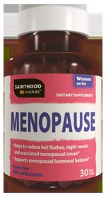 Menopause Sainthood Herbs