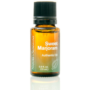 Nature's Sunshine Sweet Marjoram Essential Oil