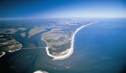 Amelia Island, Florida just north of Jacksonville.