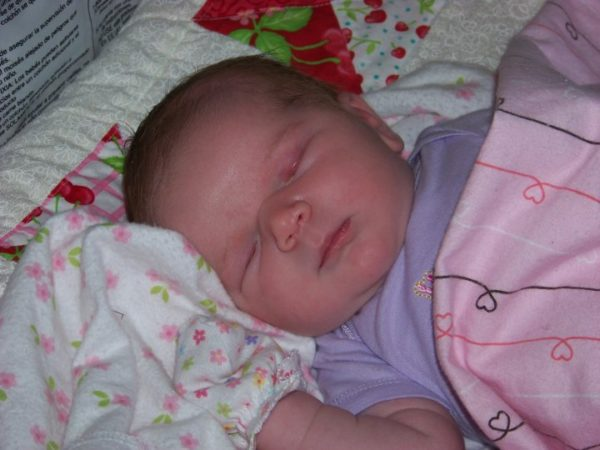 Miss Amelia three days old. I miss this baby so much.