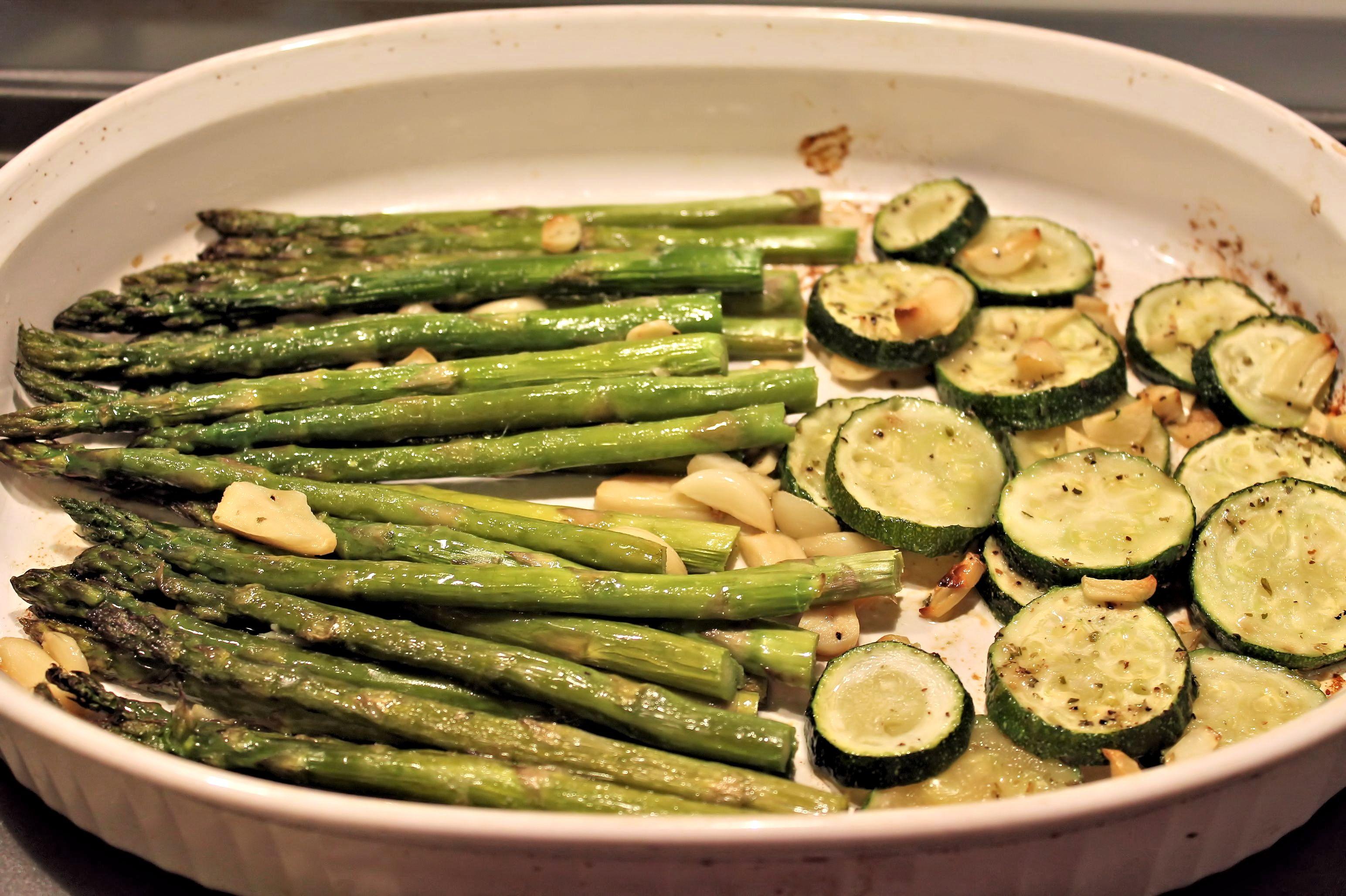 Easy Asparagus and Zuchinni Bake Gluten Free Recipe