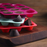 Set of three round chocolate molds MSRP $11.99