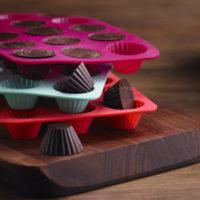 Set of three round chocolate molds MSRP $11.99