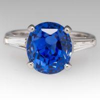 blue sapphire ring from EraGem