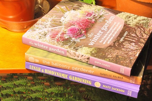 New gardening books for my bookshelf