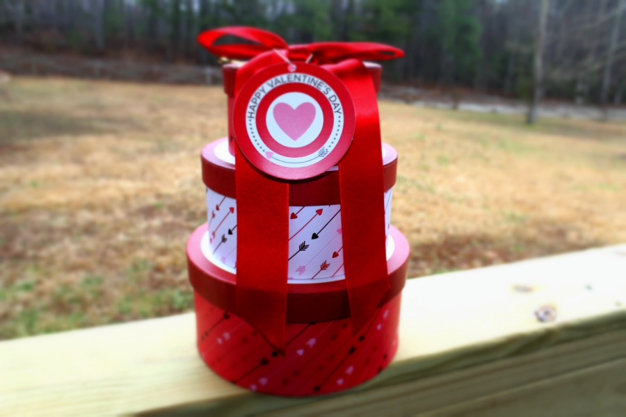 Cheryl's Desserts Love Struck Valentine's Tower: Gluten Free Cookies in A Beautiful Package