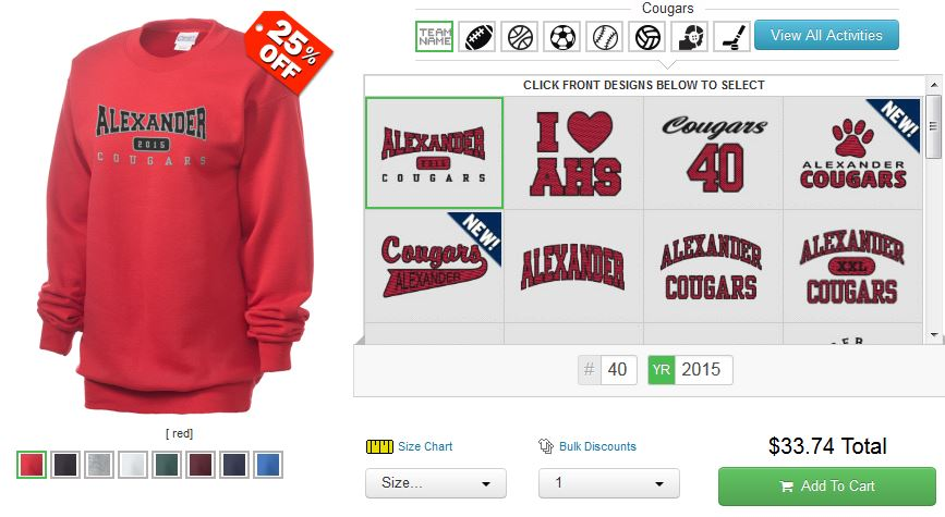 Prep Sportswear For Your High School, College, and Greek Week Sweats and Hoodies