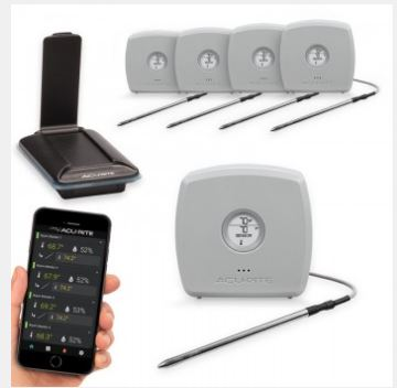 Acu-Rite Smart Home Environmental Monitoring System