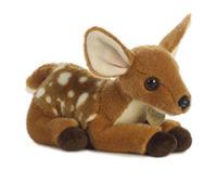 Plush baby deer