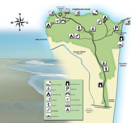 Fort Clinch Map