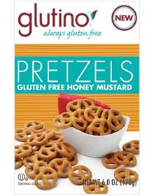 Glutino Gluten Free Honey Mustard Pretzels