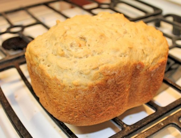 gluten free bread baked in rosewill breadmaker