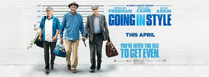 Going In Style In Theaters Now! Win A $50 Visa Gift Card!