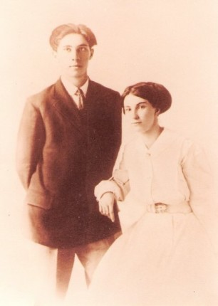 Grandfather and Grandmother Stroud
