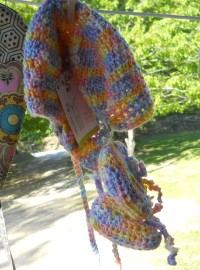 Crocheted Hat & Booties $14