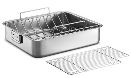 My new roasting pan from Tramintina