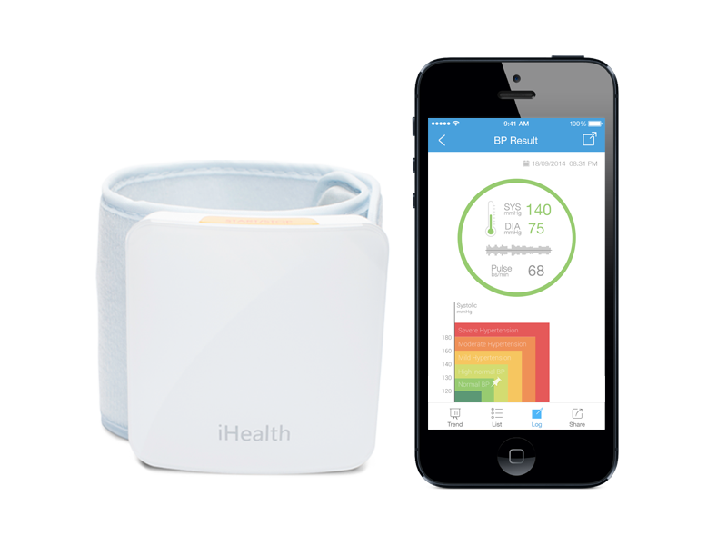 iHealth Blood Pressure Monitor: Take It Anywhere!