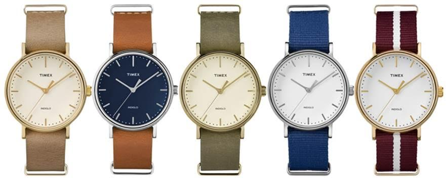 Timex For Fashion Right On Time!