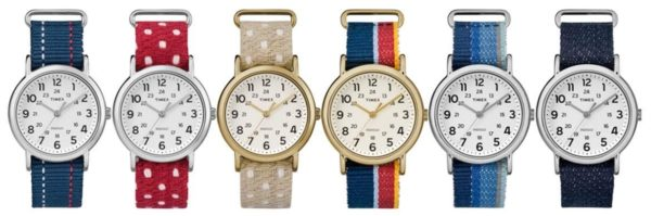Timex Weekender Denim watches