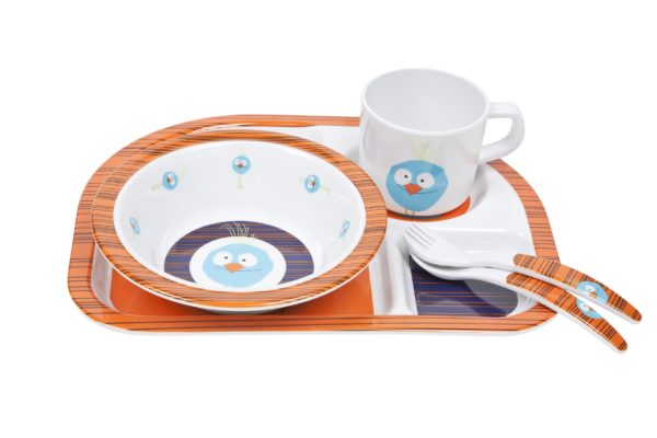 Little Birdie Children's Dish set by Lassig