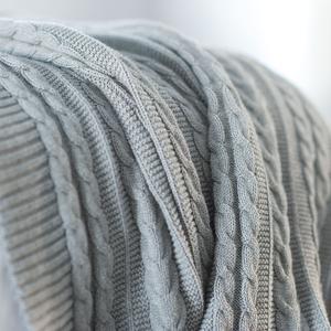 Beautiful knit throw