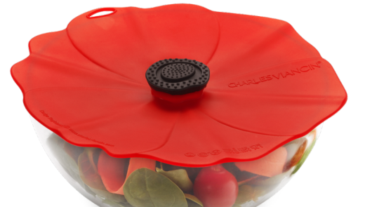 Beautiful Poppy Lids for b bowls or pots and pans.